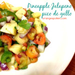 Pineapple Jalapeno pico de gallo