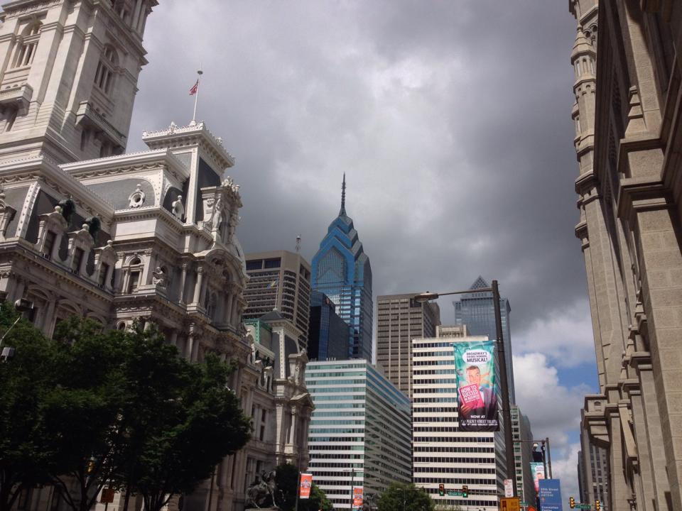 Downtown Philadelphia!